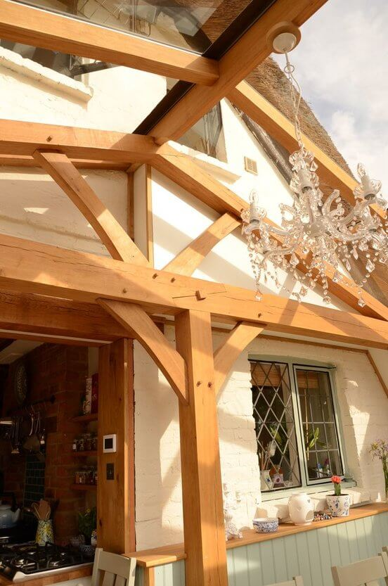 Oak conservatory in East Sussex 2