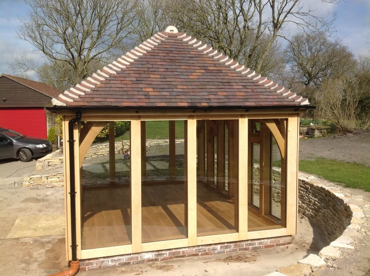 Detached Oak Garden Room in Dorset 1