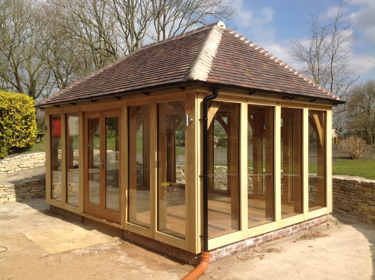 Detached Oak Garden Room in Dorset 2