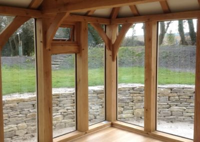 Detached Oak Garden Room in Dorset 3