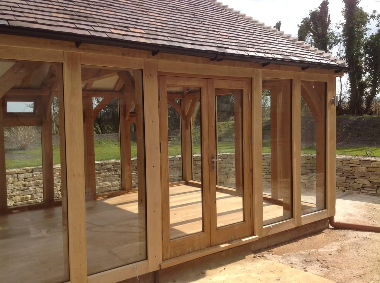 Detached Oak Garden Room in Dorset 4