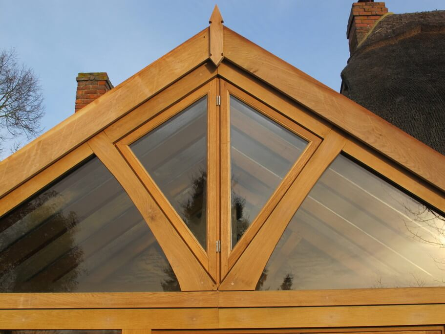 Oak Conservatory in Oxfordshire 1