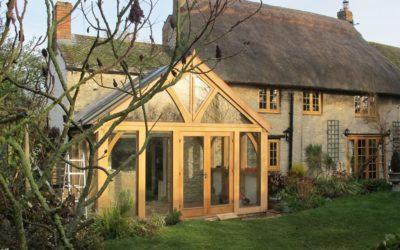 Make The Most of Autumn Beauty With an Oak Framed Garden Building