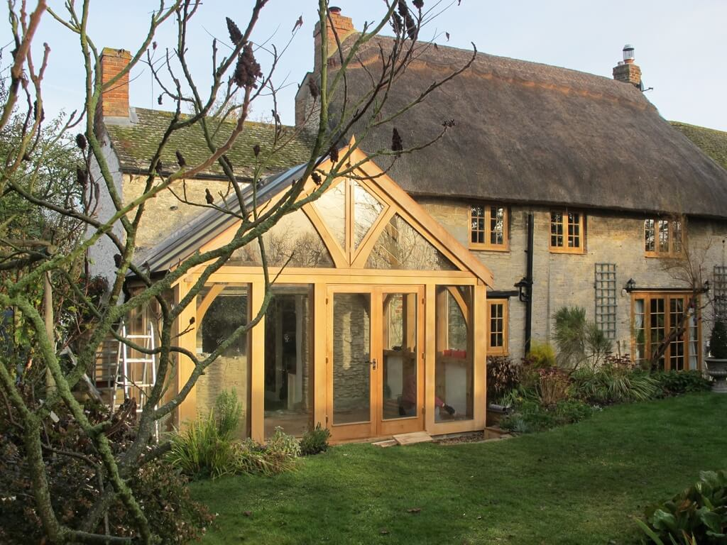 Oak Conservatory in Oxfordshire 2