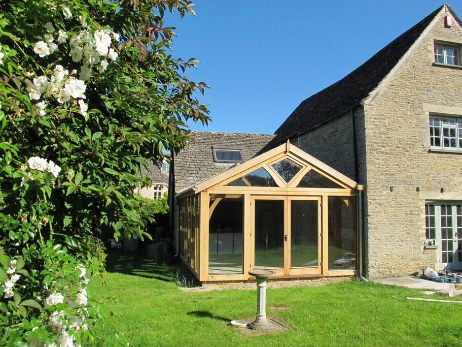 Oak Conservatory in the Cotswolds 2