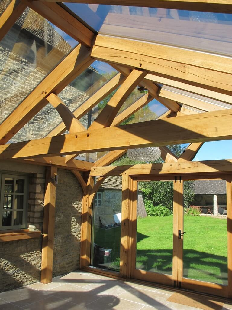 Oak Conservatory in the Cotswolds 3