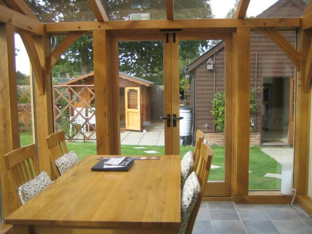 Oak Conservatory in the New Forest 1