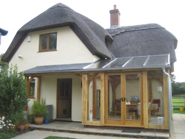 Oak Conservatory in the New Forest 3