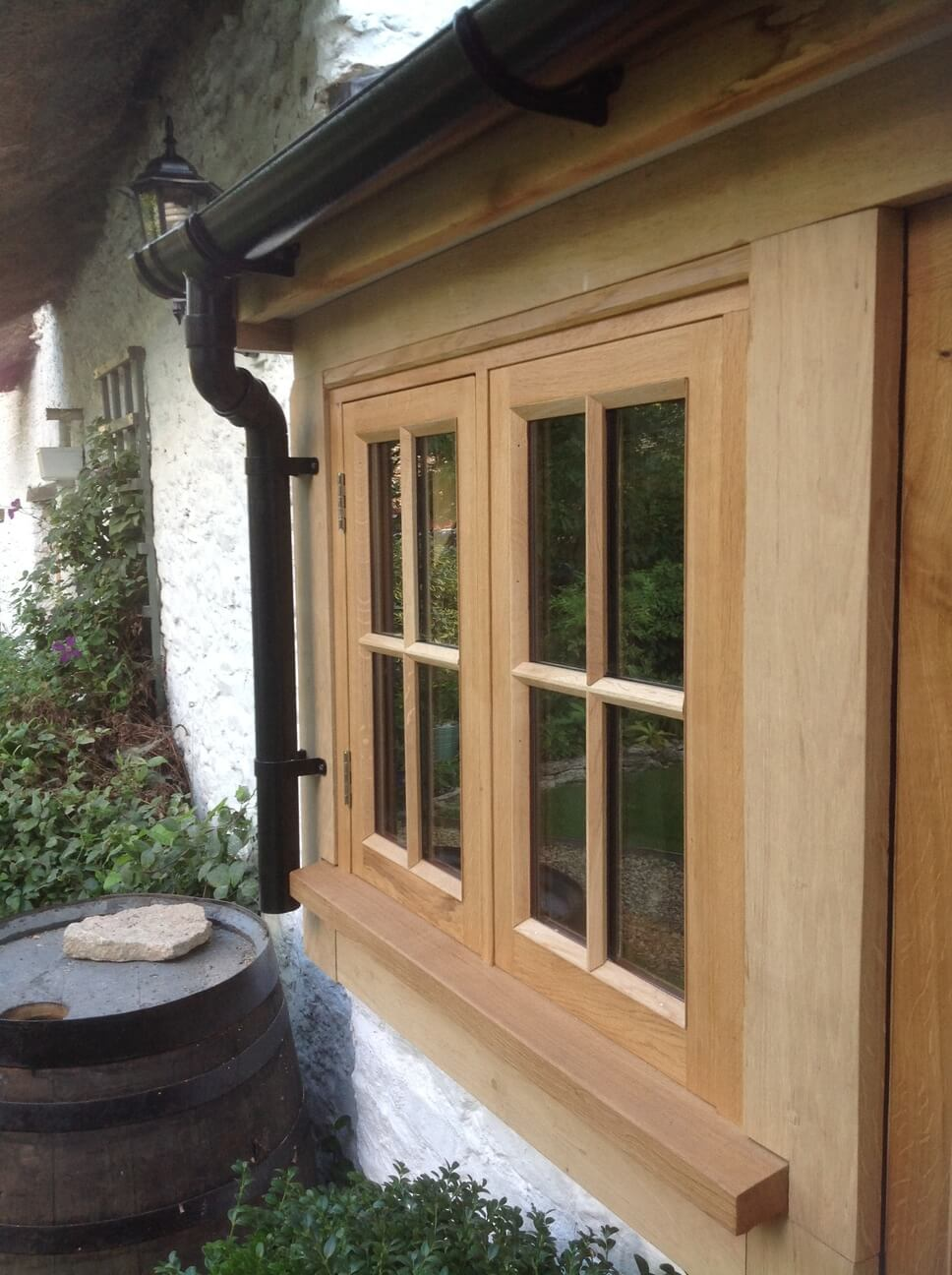 Oak Entrance Porch in Oxfordshire 1