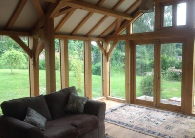Oak Extension in Wiltshire 1