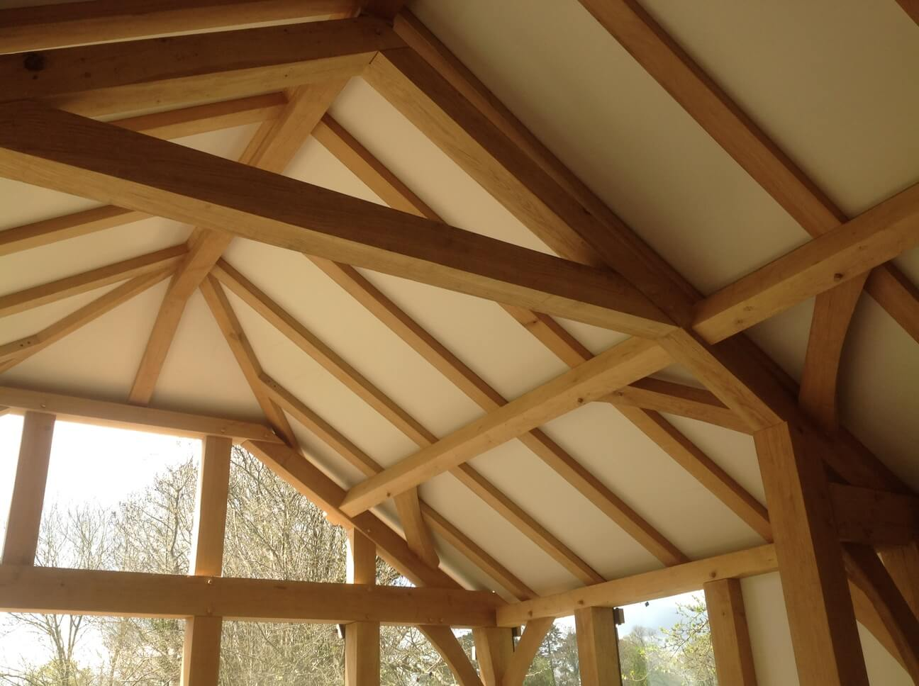 Oak Extension in Wiltshire 2