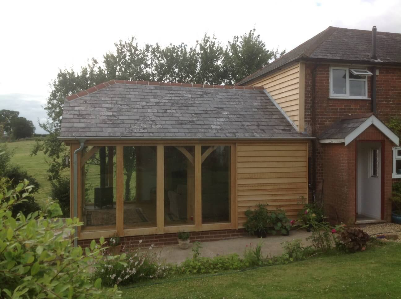 Oak Extension in Wiltshire 3