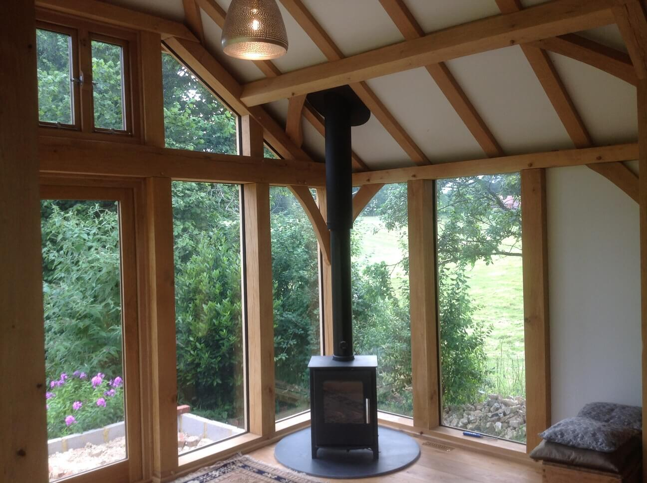 Oak Extension in Wiltshire 4