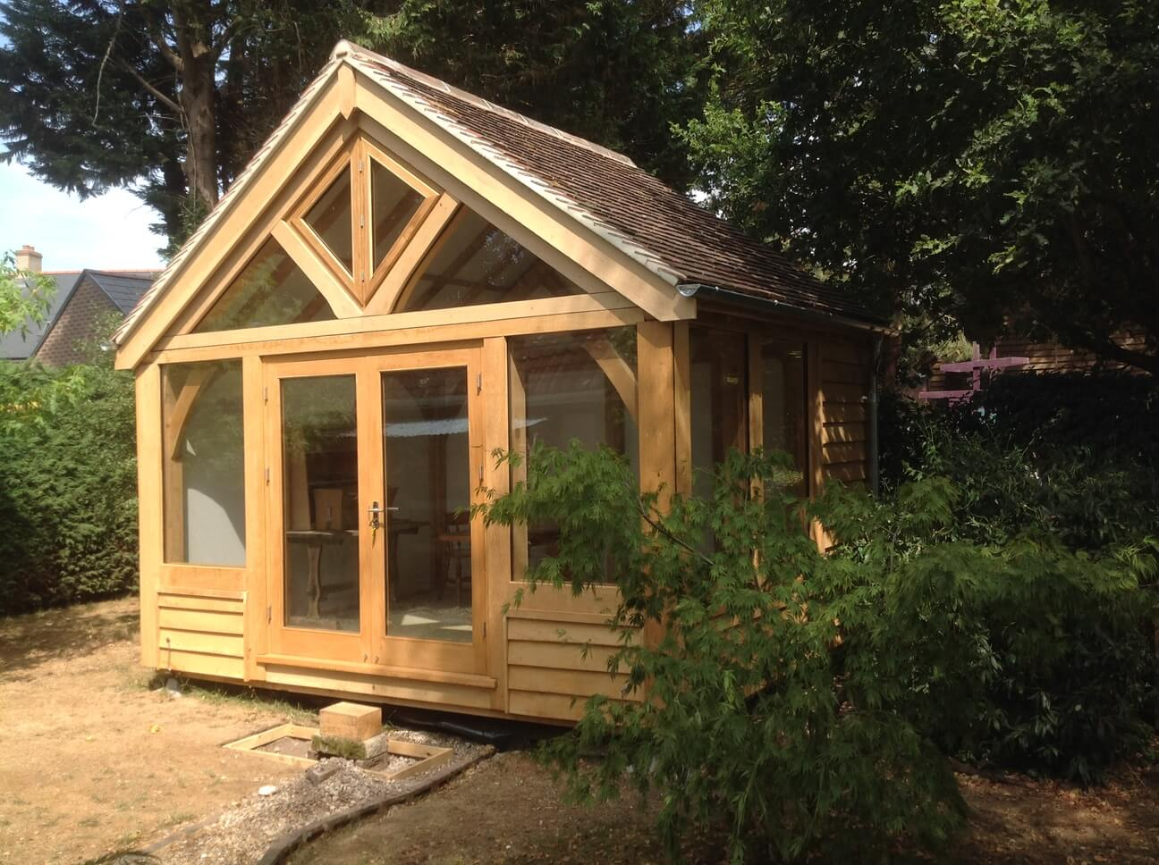 Oak Framed Artists Studio in Dorset 1
