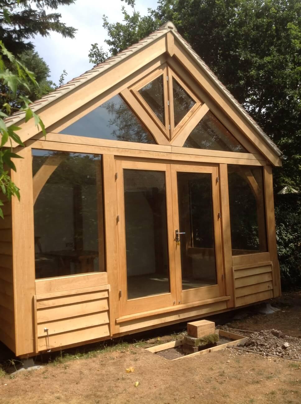 Oak Framed Artists Studio in Dorset 2