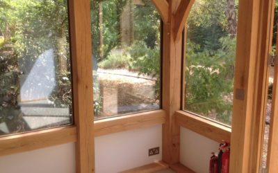 Oak-Framed Building Ideas for a Camping or Glamping Site