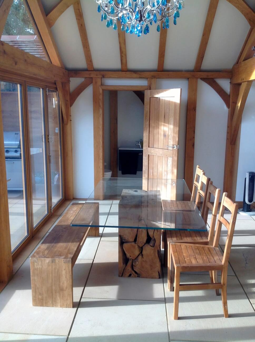 Oak Garden Room in Hertfordshire 4