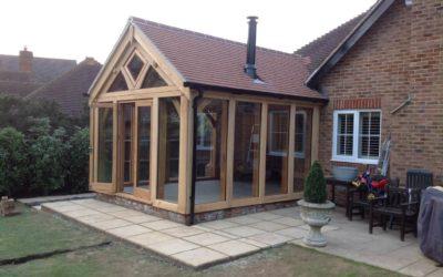 Oak Framed Buildings With Passive Solar Design