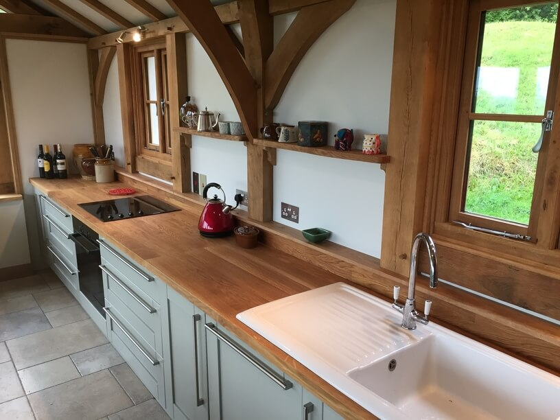 Oak Kitchen Extension in the New Forest 3