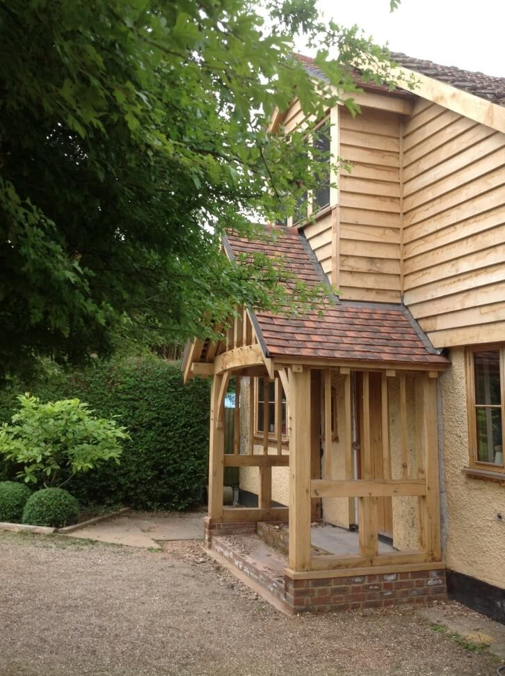 Oak Porch in Berkshire