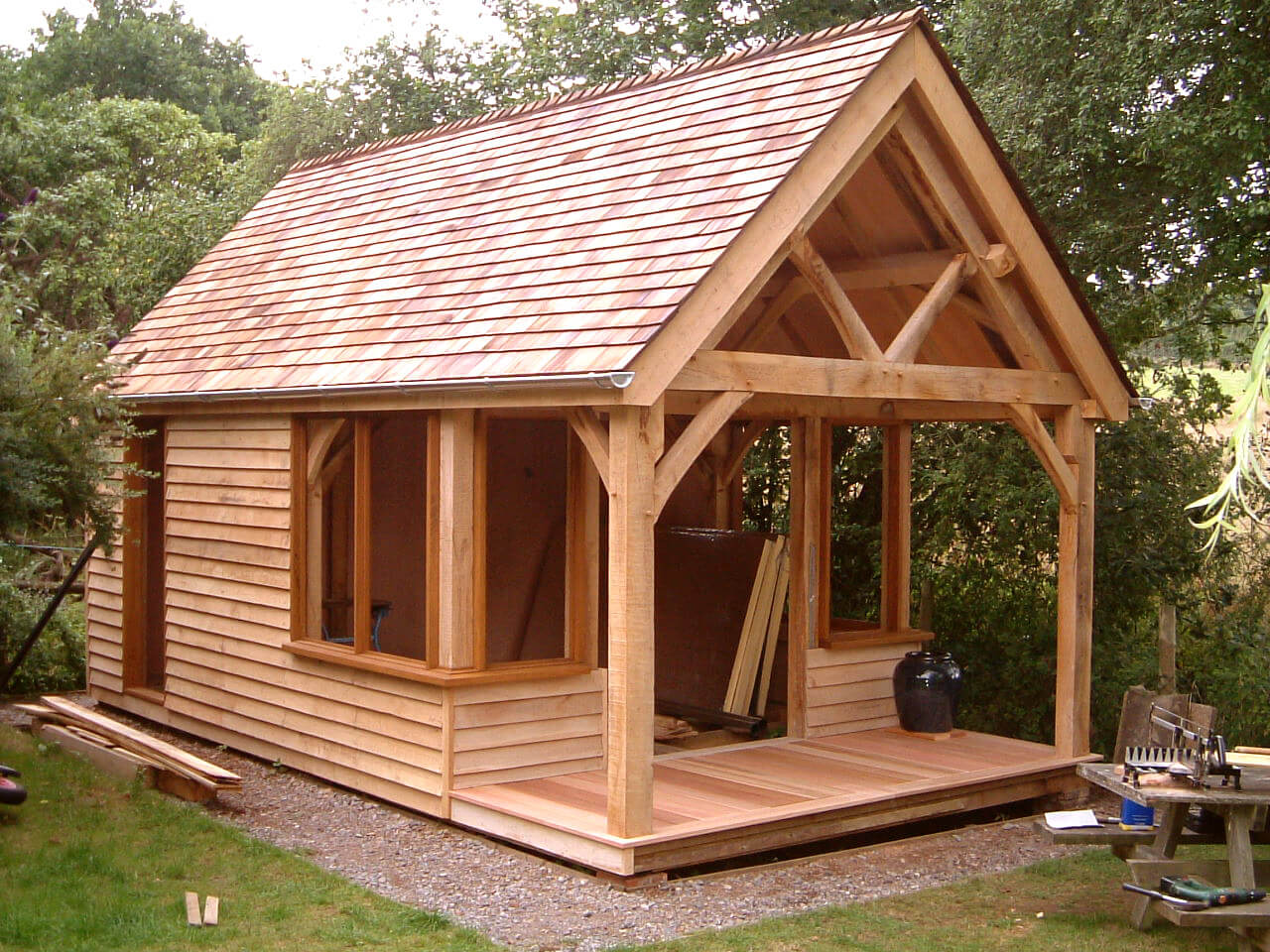 Oak Studio and Potting Shed in the New Forest 3