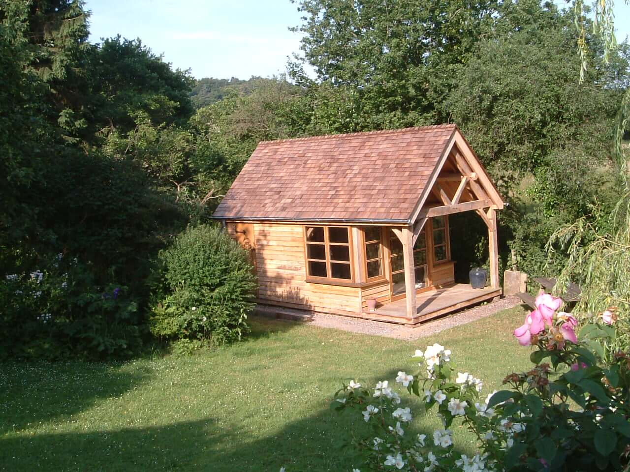Oak Studio and Potting Shed in the New Forest 4