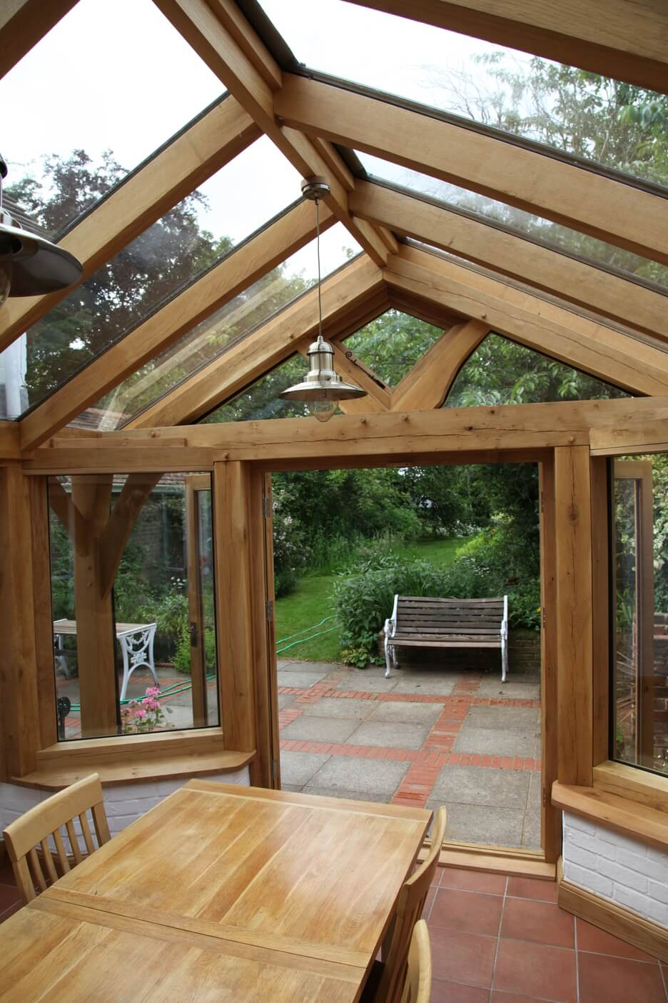 Oak conservatory in Hampshire 3