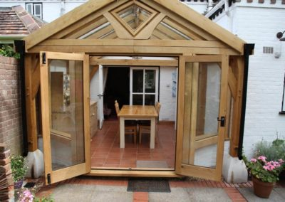 Oak conservatory in Hampshire 4