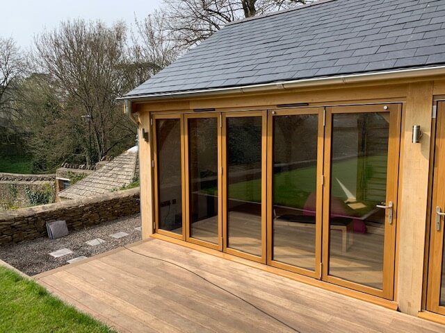 Oak Home Office Studio in the Cotswolds 2