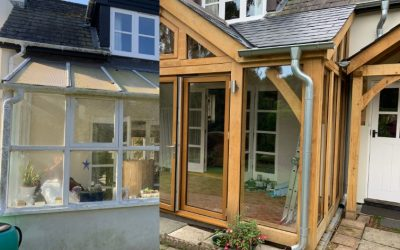 Replace An Old Timber and PVC Conservatory With an Oak Conservatory That Will Last