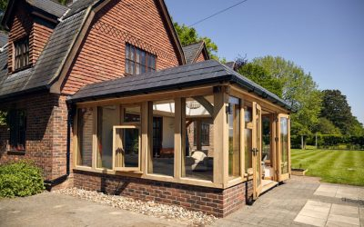 Harvesting and Directing Rainwater From Your Garden Building